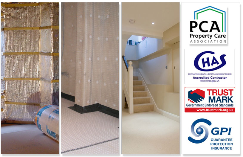 Tanking And Basement Waterproofiong Plymouth Devon